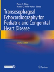 Transesophageal Echocardiography for Pediatric and Congenital Heart Disease