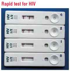 Rapid Tests HIV
