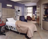 Single Patient Rooms with Space for Families