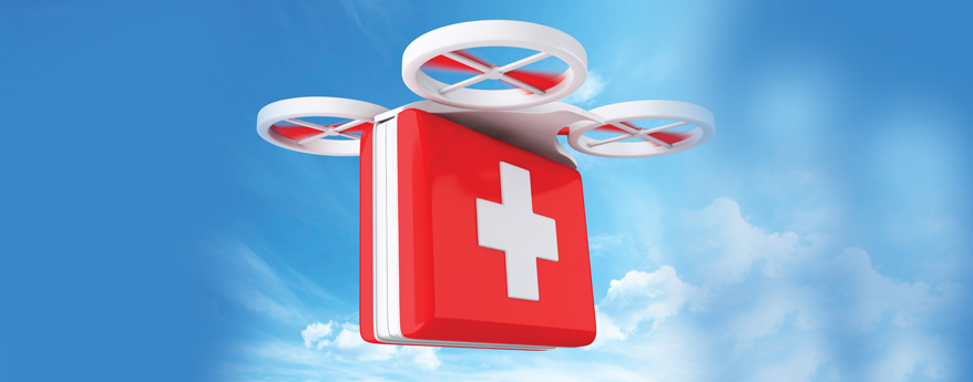 DRONES IN HEALTHCARE
